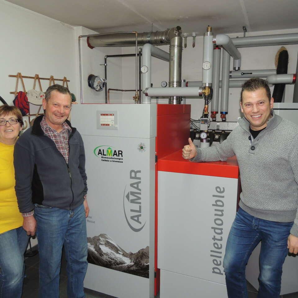 Gruber Siegfried - Almar - Biomasseheizungen
